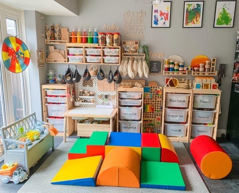 Molly's beautiful play room